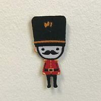 Royal Guard London Moustache Badge Clothes Iron on Sew on Embroidered Patch