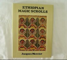ETHIOPIAN MAGIC SCROLLS JACQUES MERCIER FIRST PRINTING HARDCOVER BOOK