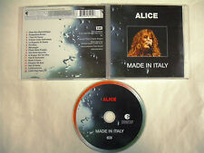ALICE  Made In Italy  CD