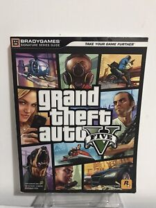Grand Theft Auto V gta 5 Signature Series Video Game Strategy Guide