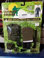Ultimate Soldier U.S. Army Special Forces MAC-V Advisor Green Shirt GI Joe