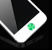 Hot Aluminium Metal Round Home Button Sticker Decal for iPhone 4/4S 5 ipad 3g HY