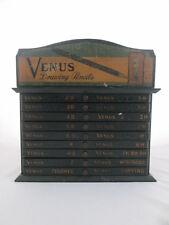 Vintage Venus Art Drawing Pencil Store Display Box Advertising Cabinet Drawers