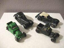(4) Vintage Tootsie Toy Diecast Car 1939 - (2) Mercedes - (2) Trucks