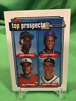 1992 Topps Top Prospects #551 RC Chipper Jones Braves