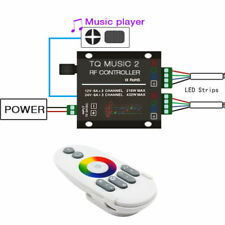 SUPERNIGHT®  Music 2 Touch Controller RF Remote w/ Audio 3.5mm for RGB LED StriP