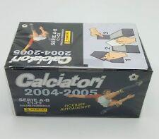 Calciatori Panini 2004 2005 Box figurine sigillato 100 bustine