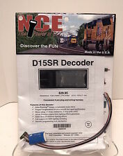 NCE #104 D15SR HO DCC Decoder for HO engines NEW