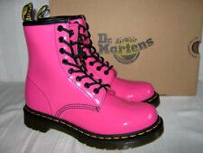 DR MARTENS DOCS Stiefel 1460 8-loch Gr.38 NEU KARTON pink Boots PATENT LAMPER