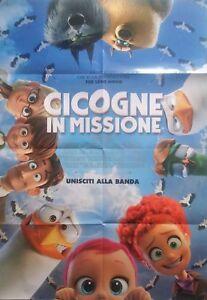 CICOGNE IN MISSIONE POSTER ORIGINALE ITALIANO 70X100 CM NON PIEGATO
