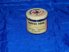 Vintage Roadside Farms Country Jams Strawberry Jam Jar w/ Lid 18665