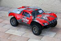 Custom Body Red for ARRMA Senton 4x4 3S / 6S BLX Cover Shell