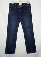 Country Road Jeans Size 8 Straight Mid Rise Medium Wash Stretch Denim
