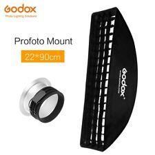 "Godox 9""x 35"" 22 x 90cm Honeycomb Grid Softbox for Profoto Mount Studio Flash"