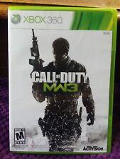 Call of Duty Modern Warfare 3 Xbox 360 2011 Disc case art book VeryGoodCondition
