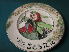 """Royal Doulton England Collector Plate The Jester 10 1/2"""" D6277"""
