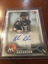 2016 Bowman Blake Anderson Auto PA-BA Autograph AFL Hot