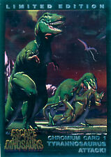 Escape of the Dinosaurs Gold Chase Card Set