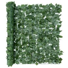 BISEN 1x3 m Artificial Ivy Leaf Garden Fence Balcony Screening Trellis Hedge Wal