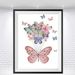 BUTTERFLY Wall Print, VARIOUS SIZES  Wall Print,Art Print,Nursery Print,