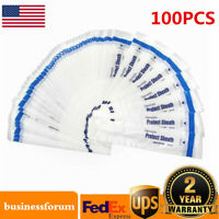 100PCS Disposable Protect Sheath Dental Intraoral Camera Sleeve Sheath Cover US