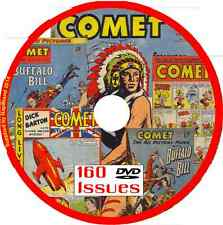 Comet Comics on DVD 160 issues includes viewing software