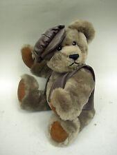 "Susan Weber-Nagle Classic Plush Jointed 12"" Teddy Bear - All Original"