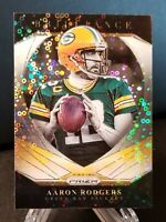 2020 Panini Prizm No Huddle Disco Prizm Aaron Rodgers Brilliance SP Packers GOAT