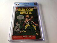 BLACK CAT MYSTIC 59 CGC 1.5 ERASING JACK KIRBY JOE SIMON HARVEY COMICS