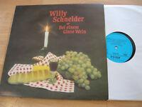LP Willy Schneider Bei einem Glase Wein Vinyl Amiga DDR 8 55 109