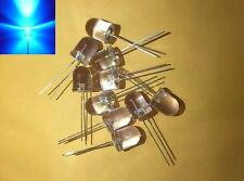 -- (20 pieces) 10mm Blue blinking LED light diode flashing bulb