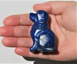 Large Carved Lapis Lazuli Dog  (DOG5)