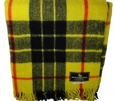 Large Tartan Travel Rug/ Blanket/ Throw Scottish New Wool MacLeod Lewis Modern