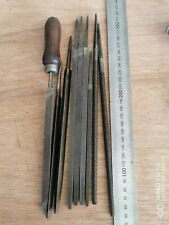 9 VINTAGE FILES LOT WILTSHIRE AND STEGIDY AUSTRIAN COLLECTOR WORKSHOP TOOL