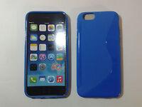 """Custodia cover blue S-line per apple iphone 6 6S 4.7"""" silicone tpu blu chiaro"""