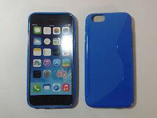 Custodia Cover Silicone Per Iphone 4 / 4S - Battistrada Blu