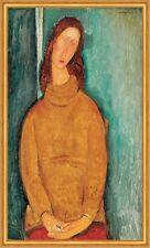 Portrait of Jeanne Hebuterne Amedeo Modigliani Französiche Malerin B A2 00463