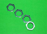 Aluminum ALLOY 24mm HEX WHEEL NUTS(4) HPI BAJA 5B,5T,5SC Silver
