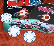 Poker Fly --3 Fly routine with Poker chips --precision gaffs, great price!  TMGS