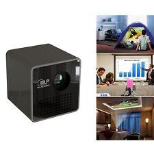 1080P Mini Full HD DLP P1+H WiFi Multimedia Pocket LED Projector Home Cinema UK