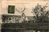 CPA  Moisson (S.-et-O.) - Vue sur l'Église et les Maisons environnantes (246541)