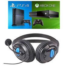 Casque Ecouteurs Audio 3,5mm avec Microphone Mic pour Jeux PC PS4 Console Xbox