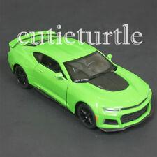 Kinsmart 2017 Chevy Camaro ZL1 1:38 Diecast Toy Car KT5399D Green