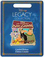 Disney Store The Emporers New Groove 20th Limited Edition Pin Legacy Collection