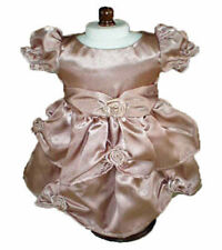 Antique Pink Dress and Headband Fits 18 inch American Girl Dolls