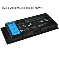 Dell Battery 97WH Genuine  for Precision M6600 M4800 M6800 FV993 JHYP2 K4RDX New