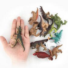 12Pcs Jurassic Dinosaurs Model T-Rex Toy Animal Figurine Home Decor Kids Gift