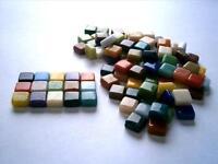 100 pack 8mm Mosaic Heaven Micro Mosaic Tiles, Full Mix
