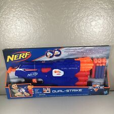 NERF N-Strike Elite Dual-Strike Blaster Toy Gun Mega Whistler Darts Hasbro NEW