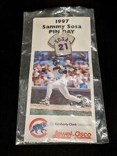 1997 Sammy Sosa Pin Chicago Cubs Baseball #21